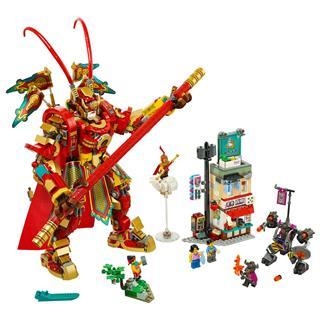 LEGO 80012 - LEGO Monkie Kid - Monkie King harci robotja