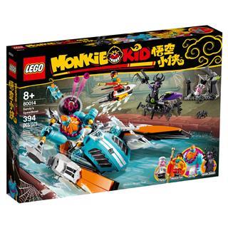 LEGO 80014 - LEGO Monkie Kid - Sandy motorcsónakja