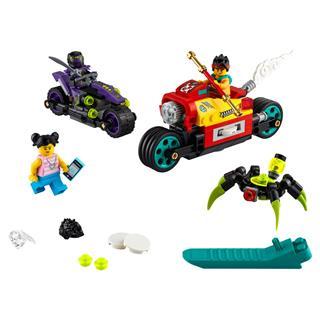 LEGO 80018 - LEGO Monkie Kid - Monkie Kid Felhőmotorja