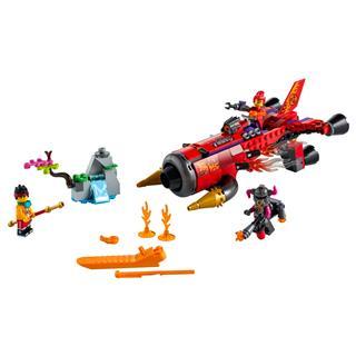 LEGO 80019 - LEGO Monkie Kid - Red Son pokoli sugárhajtású járműve
