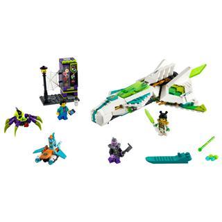 LEGO 80020 - LEGO Monkie Kid - Fehér Sárkány lovas repülője