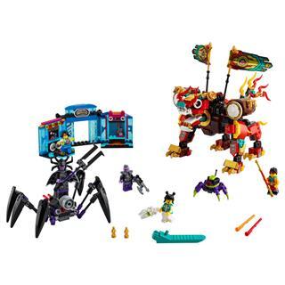 LEGO 80021 - LEGO Monkie Kid - Monkie Kid oroszlánőrzője