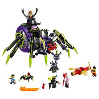 LEGO 80022 - LEGO Monkie Kid - Spider Queen pókhálószerű bázisa