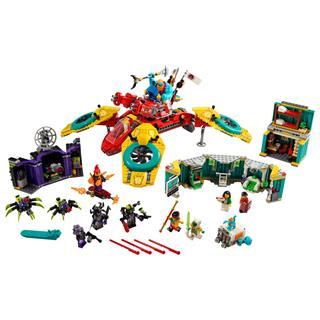 LEGO 80023 - LEGO Monkie Kid - Monkie Kid csapatának drónkoptere