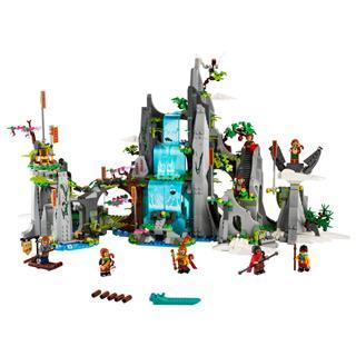 LEGO 80024 - LEGO Monkie Kid - A legendás Virággyümölcs-hegy