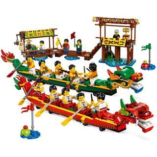 LEGO 80103 - LEGO Exclusive - Sárkányhajó verseny