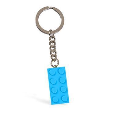 LEGO 853380 - LEGO Kulcstartó - Türkiz 2x4 elem