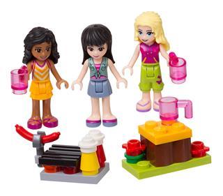 LEGO 853556 - LEGO Friends - Táborhely kiegészítő szett
