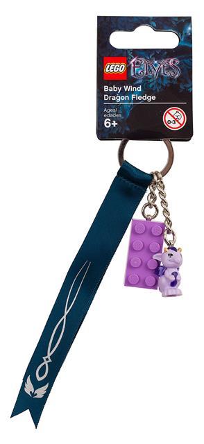 LEGO 853563 - LEGO Elves - Mini sárkány kulcstartó
