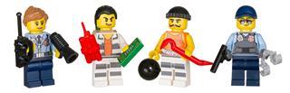 LEGO 853570 - LEGO City - Rendőrségi kiegészítő minifigura csomag