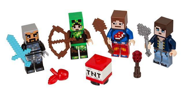 LEGO 853609 - LEGO Minecraft - Skin Pack 1.