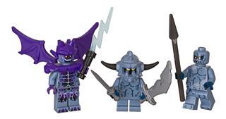 LEGO 853677 - LEGO Nexo Knights - Minfigura kiegészítő szett (ször...