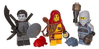LEGO 853687 - LEGO NINJAGO - Minifigura kiegészítő szett