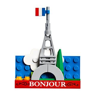 LEGO 854011 - LEGO Exclusive - Eiffel torony mágnes