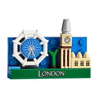 LEGO 854012 - LEGO Exclusive - London városkép hűtőmágnes