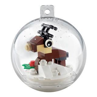 LEGO 854038 - LEGO Exclusive - Karácsonyi rénszarvasdísz