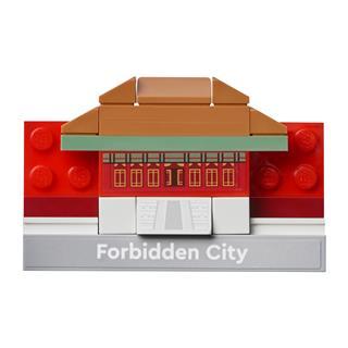 LEGO 854088 - LEGO - Tiltott város mágneses építmény
