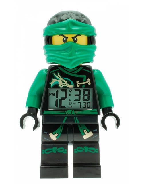 LEGO 9009402 - LEGO Ninjago - Lloyd asztali óra