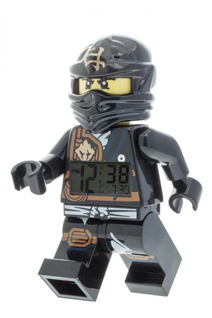 LEGO 9009617 - LEGO Ninjago - Jungle Ninja Cole asztali óra