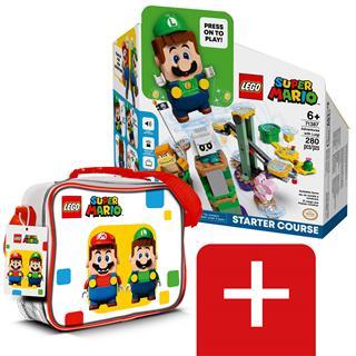 LEGO B71387 - LEGO Super Mario - Luigi kalandjai kezdőpálya + ajándék