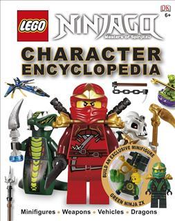 LEGO BOOK16 - LEGO NINJAGO Könyv - Character Encyclopedia