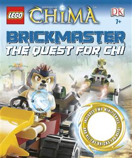 LEGO BOOK20 - LEGO Chima Könyv - The Quest for Chi Brickmaster
