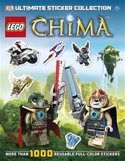 LEGO BOOK21 - LEGO Chima Könyv - Chima matricás óriáskönyv