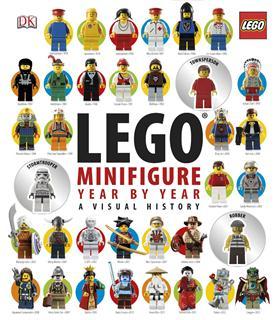 LEGO BOOK28 - LEGO könyv - Minifigure Year by Year (angol)
