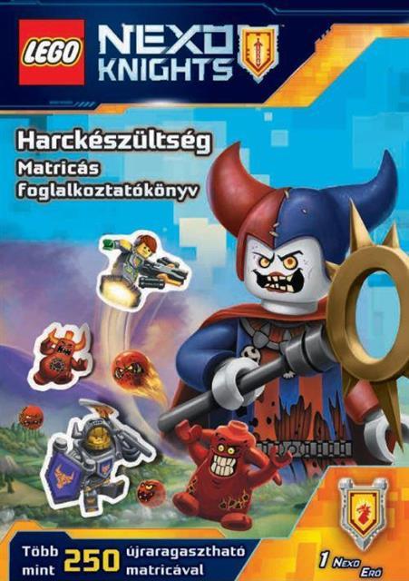 LEGO BOOK52 - LEGO Nexo Knights - Harckészültség matricás foglalko...