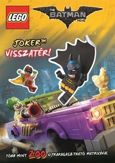 LEGO BOOK62 - LEGO The Batman Movie könyv - Joker visszatér