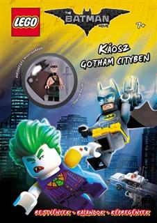LEGO BOOK63 - LEGO the Batman Movie könyv - Káosz Gotham City-ben