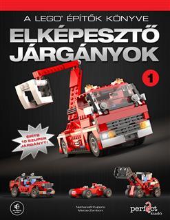 LEGO BOOK67 - A LEGO építők könyve - Elképesztő járgányok 1. (magyar)