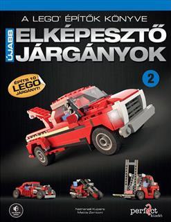 LEGO BOOK68 - A LEGO építők könyve - Elképesztő járgányok 2. (magyar)