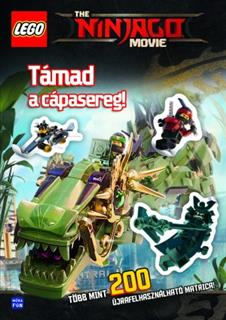 LEGO BOOK70 - The NINJAGO Movie - Támad a cápasereg! (magyar)