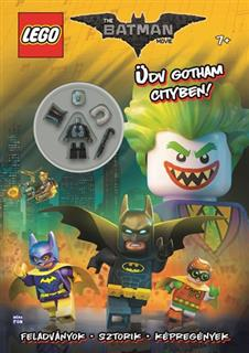 LEGO BOOK71 - The Batman Movie - Üdv Gotham Cityben! (magyar)