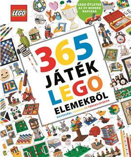 LEGO BOOK77 - LEGO könyv - 365 játék LEGO elemekből