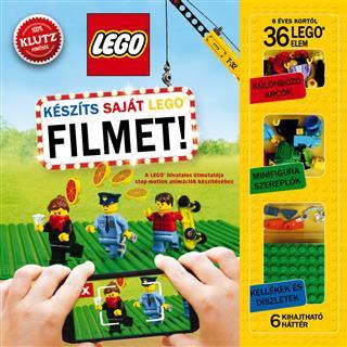 LEGO BOOK80 - LEGO könyv - Készíts saját LEGO filmet