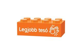 LEGO GLK017 - LEGO gravírozott kocka - Legjobb tesó (narancssárga)
