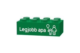 LEGO GLK025 - LEGO gravírozott kocka - Legjobb apa (sötétzöld)