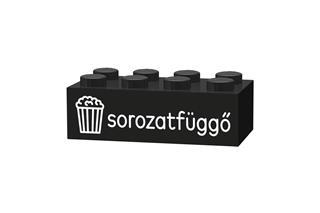 LEGO GLk045 - LEGO gravírozott kocka - Sorozatfüggő (fekete)