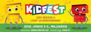 LEGO KID201802 - Kidfest - Elővételes családi jegy