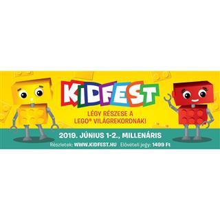 LEGO KID201901 - Kidfest 2019 - Elővételes napi jegy