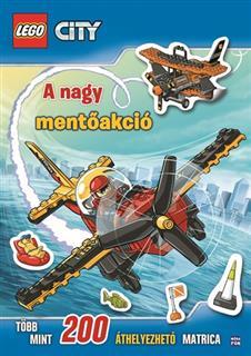 LEGO LEGO72 - LEGO City - A nagy mentőakció matricás album (magyar)