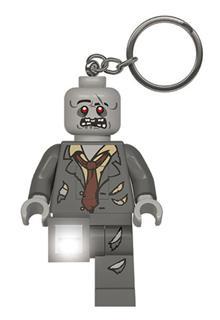 LEGO LGL-KE135 - LEGO világítós kulcstartó - Zombi