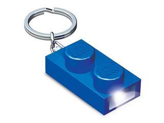 LEGO LGL-KE52B - LEGO kiegészítő - 2x1-es kék kocka világítós kulcstartó