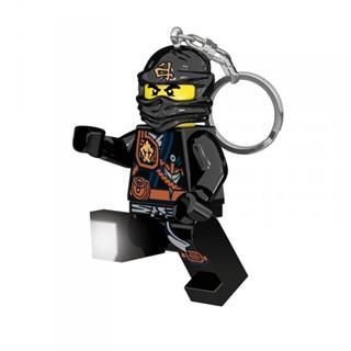 LEGO LGL-KE77C - LEGO NINJAGO lámpa - Cole világítós kulcstartó