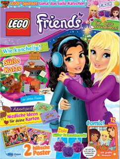 LEGO LMAG001 - LEGO Magazin - LEGO Friends + ajándék LEGO Friends z...