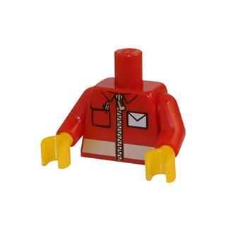 LEGO LSK011 - LEGO alkatrész - Minifigura torzó