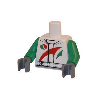 LEGO LSK014 - LEGO alkatrész - Minifigura torzó