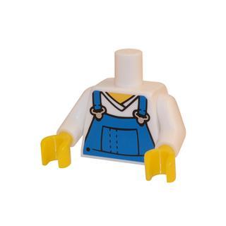 LEGO LSK016 - LEGO alkatrész - Minifigura torzó